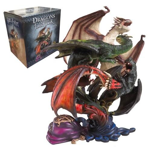 Skulptur Drachen der Ersten Prüfung - Harry Potter - Statue