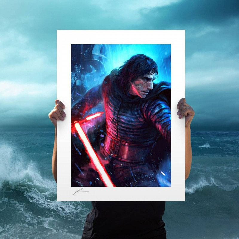 The Duel: Kylo Ren - Star Wars - Kunstdruck 61 x 46 cm