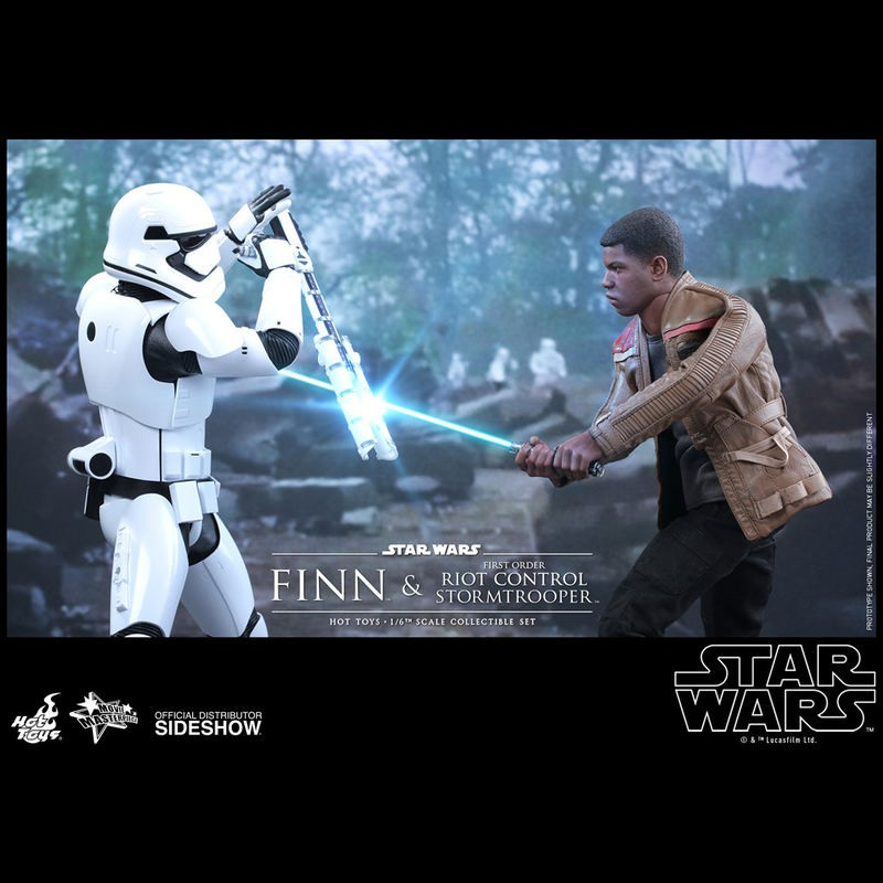 Finn & Riot Stormtrooper - Star Wars - 1/6 Scale Figuren Set