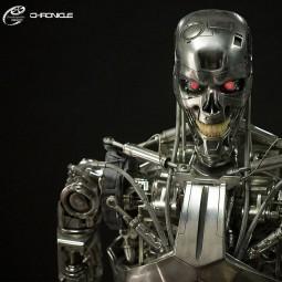 T-800 Endoskelett - Terminator Genisys - Life-Size Statue