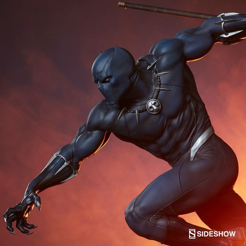Black Panther - Avengers Assemble - 1/5 Scale Polystone Statue