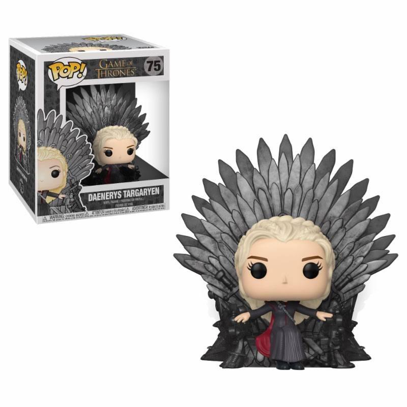 Daenerys on Iron Throne - Game of Thrones - Deluxe POP! Vinyl Figur