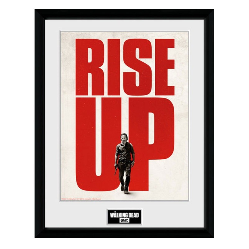 Rise Up - The Walking Dead - Poster im Rahmen