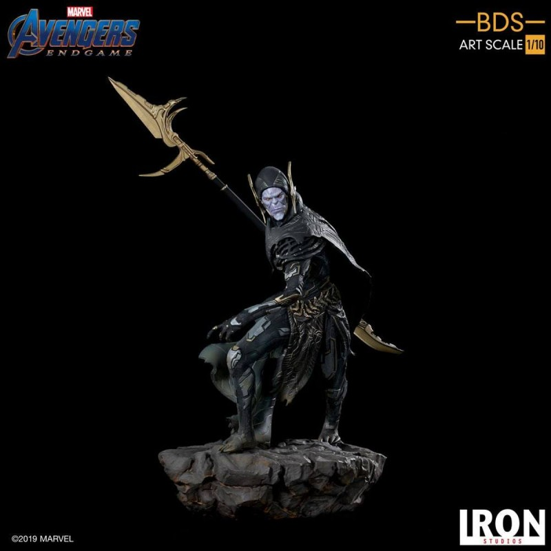 Corvus Glaive Black Order - Avengers: Endgame - BDS Art 1/10 Scale Statue