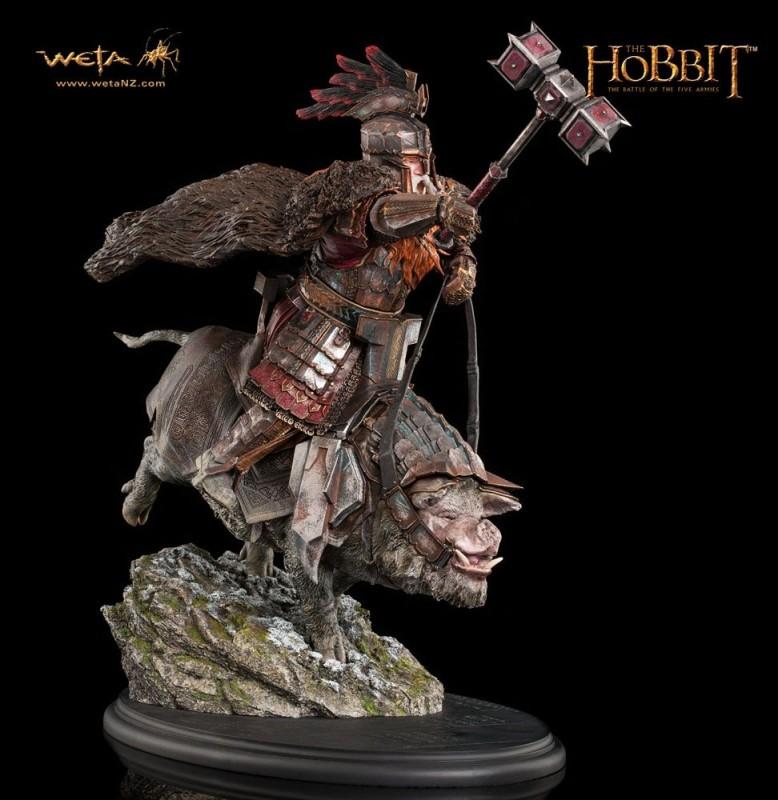 Dain Ironfoot on War Boar - Der Hobbit - 1/6 Scale Statue