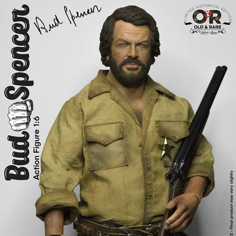 Bud Spencer - Old&Rare - 1/6 Scale Actionfigur