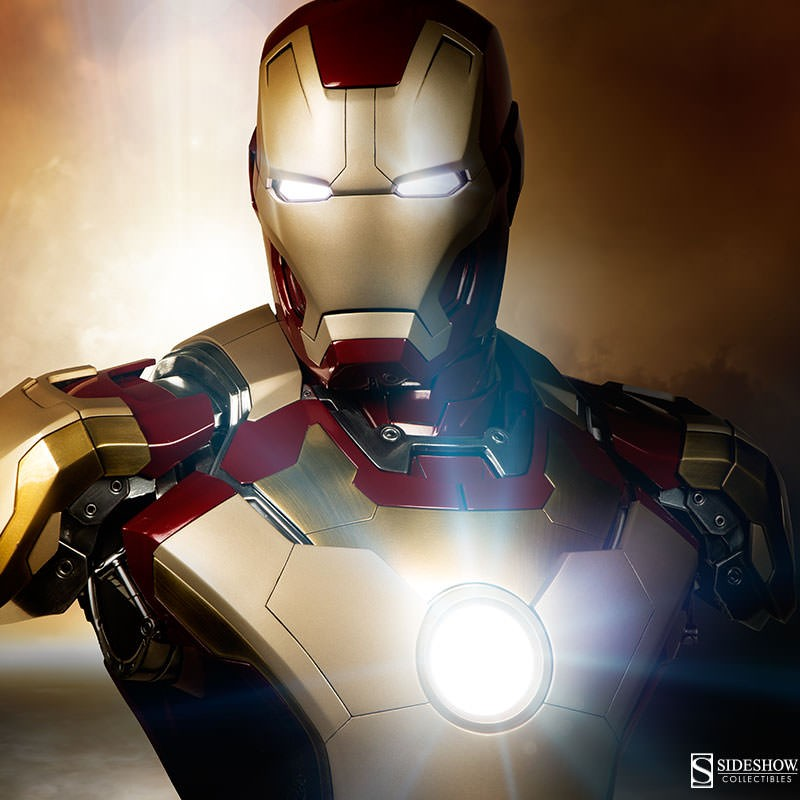Mark 42 - Iron Man 3 - Life-Size Büste