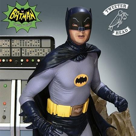 Batman 1966 To The Batmobile - Maquette