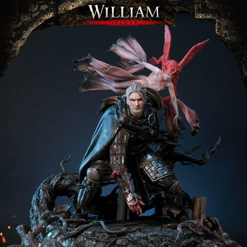 William Deluxe Version - Nioh - 1/4 Scale Polystone Statue