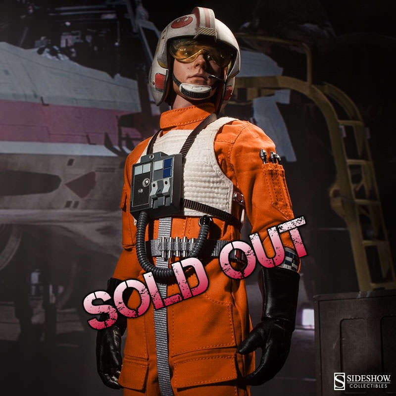 Luke Skywalker: Red Five X-Wing Pilot - Star Wars - 1/6 Scale Figur