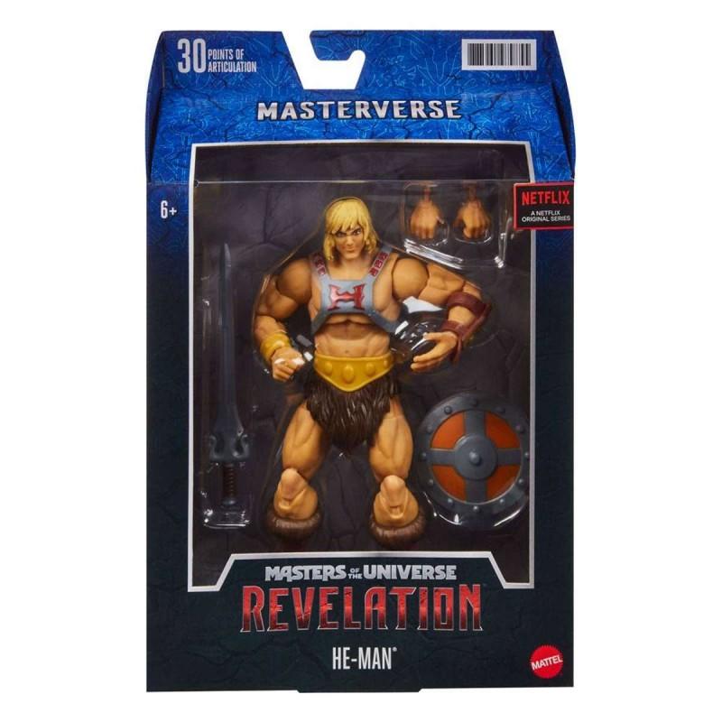 He-Man - Masters of the Universe: Revelation Masterverse - Actionfigur 18cm