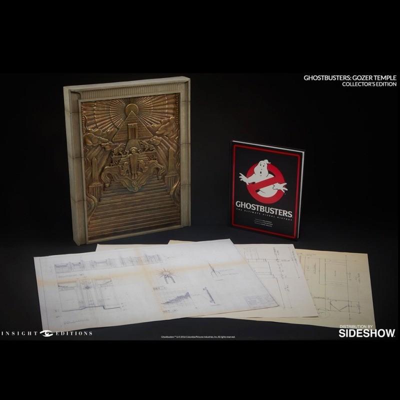 Replik Gozer Temple & Buch - Ghostbusters - Replik
