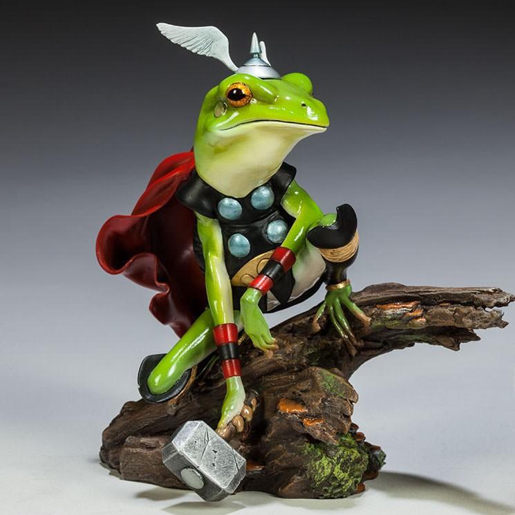 Thor Frog - Marvel Diorama Statue 15cm