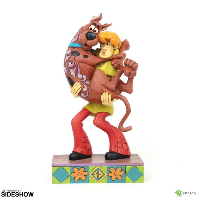 Shaggy Holding Scooby-Doo - Scooby-Doo - Resin Statue 23cm