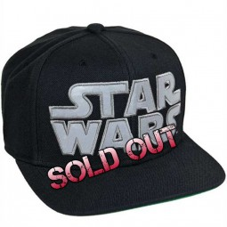 STAR WARS - Snapback Cap - Star Wars Logo