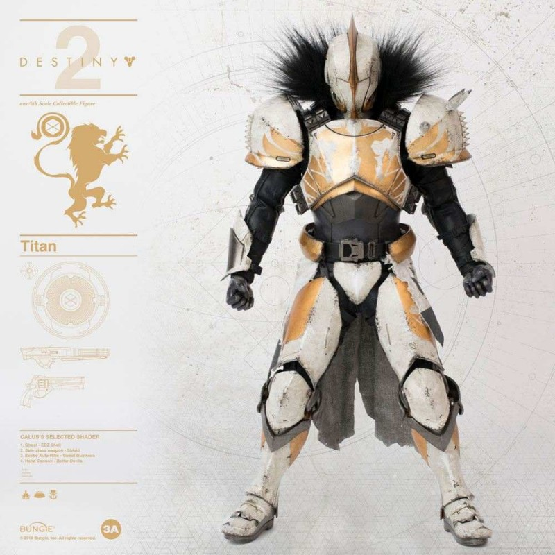 Titan Calus's Selected Shader - Destiny 2 - 1/6 Scale Action Figur