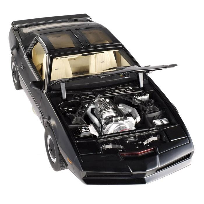Knight Rider K.I.T.T. Diecast Modell 1/18 Elite Edition
