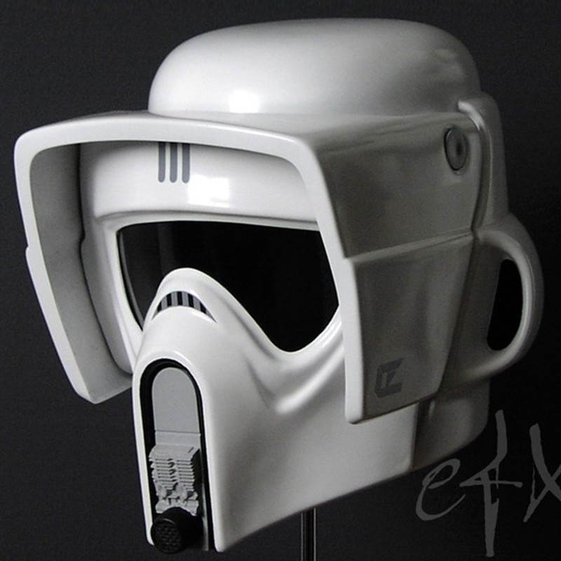 Scout Trooper Helm - Star Wars Return of the Jedi - 1/1 Replik ...