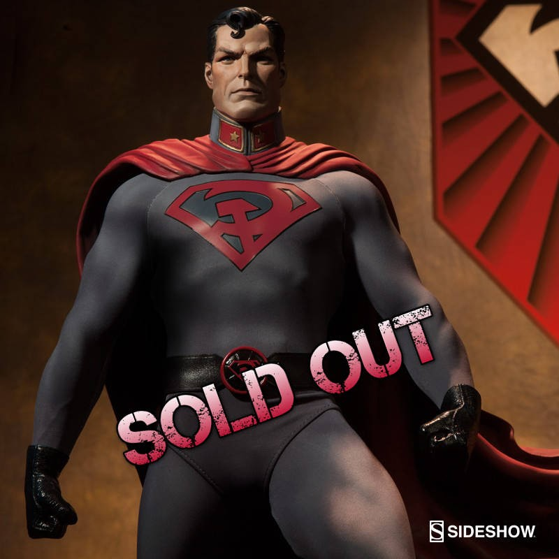 Red Son Superman - Premium Format Statue
