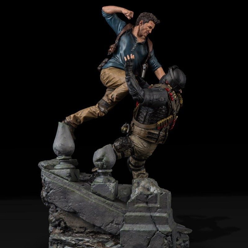 Nathan Drake - Uncharted 4: A Thief's End - 1/6 Scale Diorama