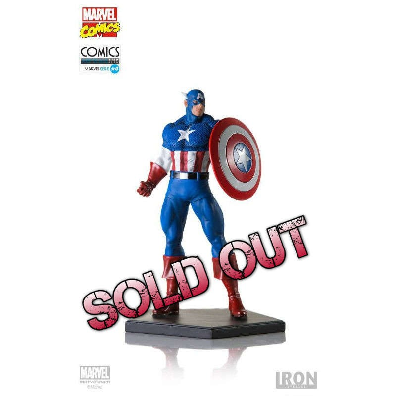 Captain America - Marvel Comics - 1/10 Scale Statue