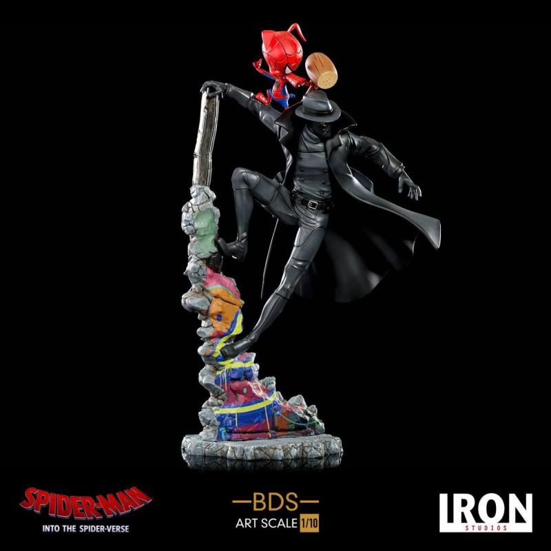 Noir & Spider-Ham - Spider-Man: A New Universe - 1/10 BDS Art Scale Statue