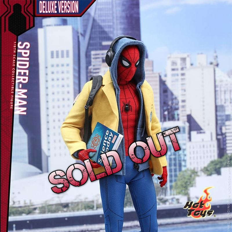 Spider-Man Deluxe Version - Spider-Man Homecoming - 1/6 Scale Figur