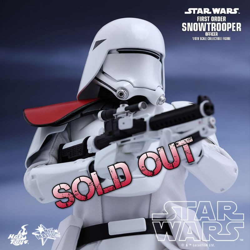 First Order Snowtrooper Officer - Star Wars - 1/6 Scale Figur