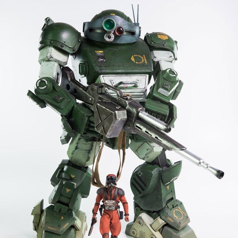 ATM-09-ST Scopedog - Armored Trooper Votoms - Action Figur 33cm