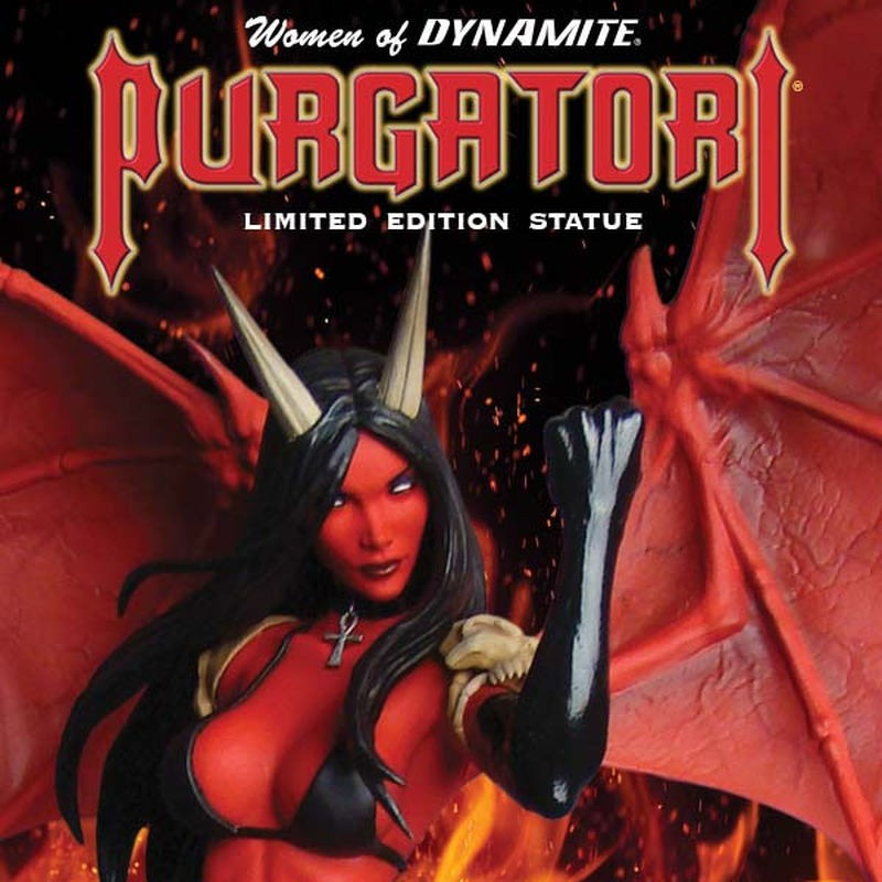 Purgatori - Women of Dynamite - Resin Statue