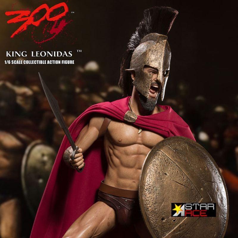 König Leonidas - 300 - 1/6 Scale Actionfigur