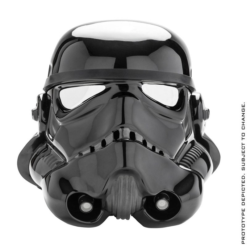 Shadow Stormtrooper Helm Standard Version - Star Wars - 1/1 Replik