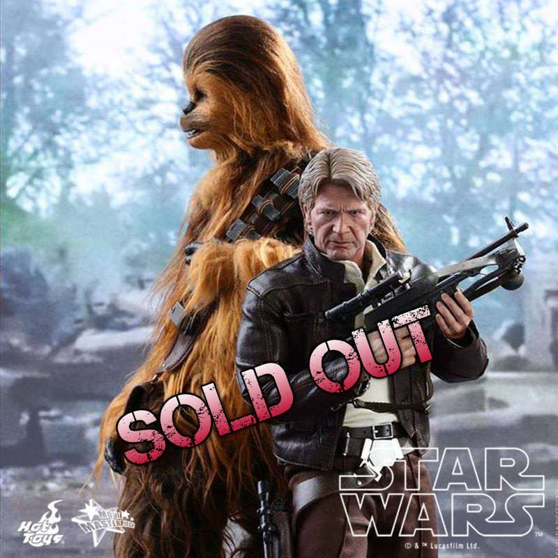Han Solo & Chewbacca - Star Wars Episode VII - 1/6 Scale Figuren Set