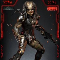 Fugitive Predator Deluxe Version - Predator Upgrade - 1/4 Scale Polystone Statue