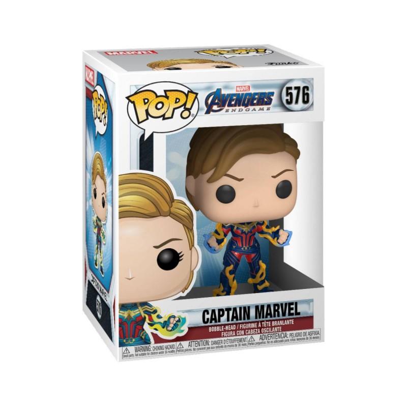 Captain Marvel - Avengers: Endgame - Marvel POP! Vinyl Figur