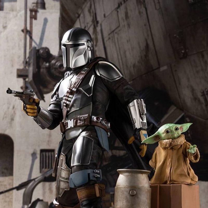 Mandalorian & The Child - Star Wars The Mandalorian - ARTFX Statue