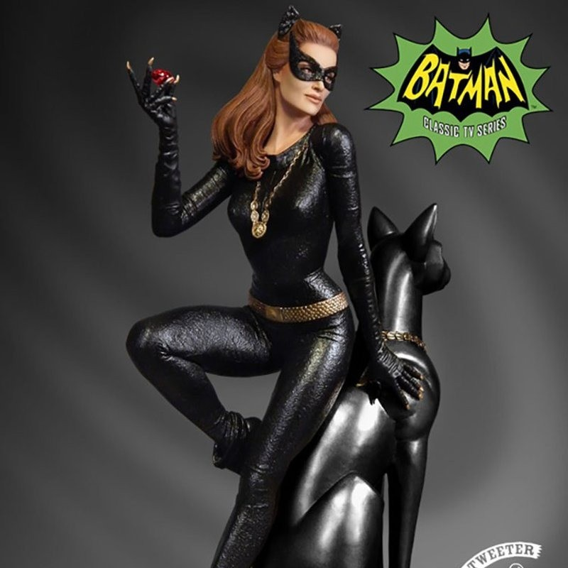 Catwoman Ruby Edition Variant - Batman Classics Collection - Maquette 30cm