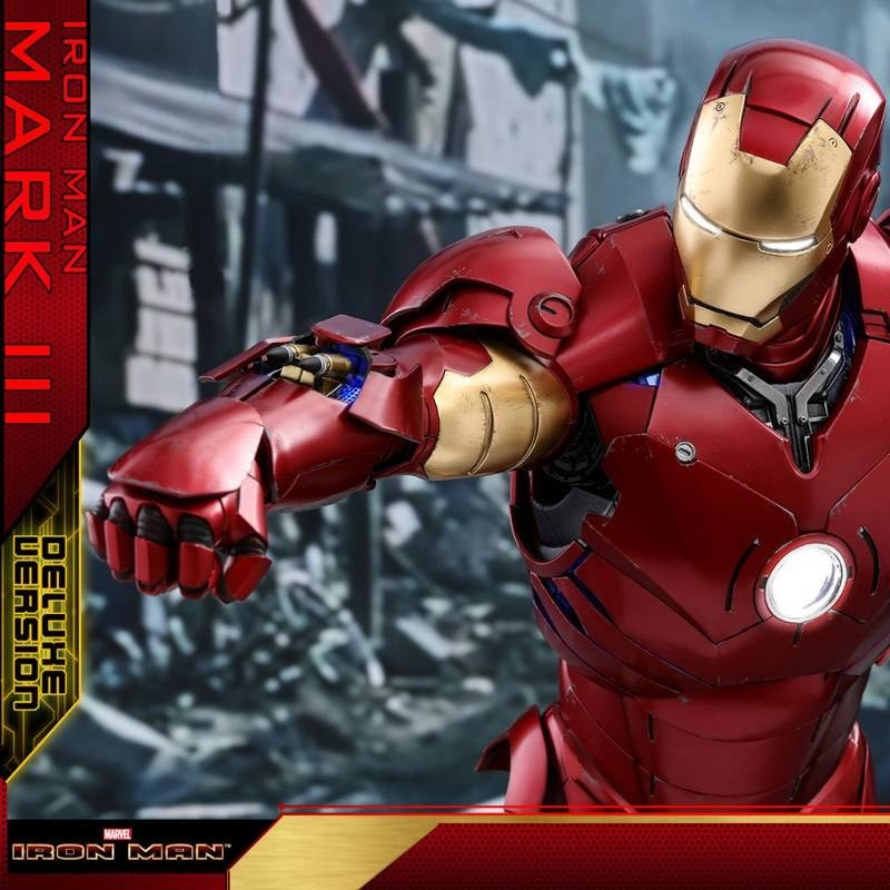 Iron Man Mark III Deluxe Version - Iron Man - 1/4 Scale Figur