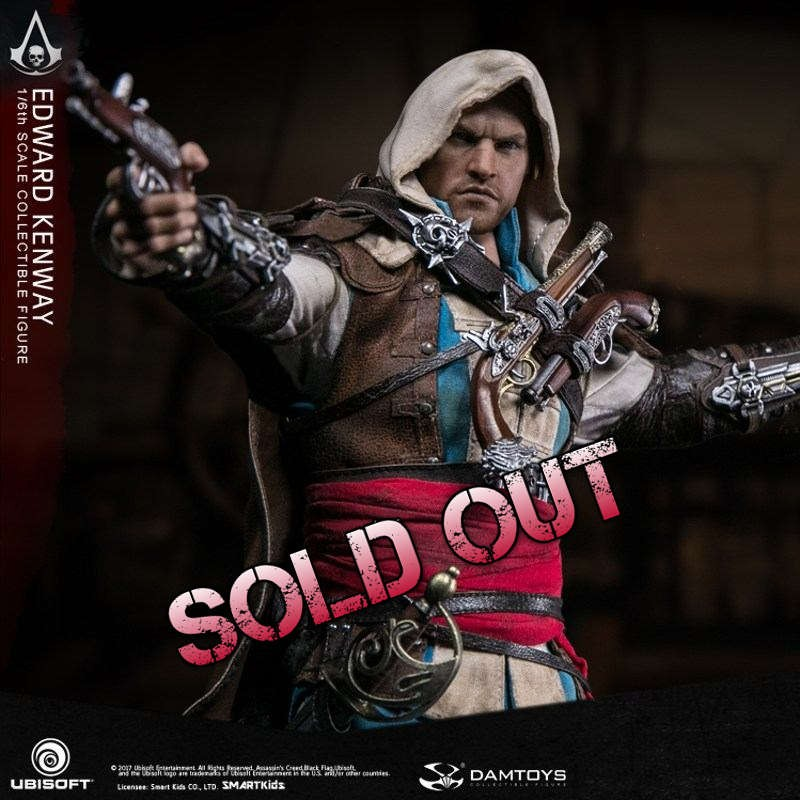 Edward Kenway - Assassin's Creed IV:Black Flag - 1/6 Scale Figur