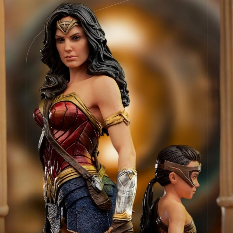 Wonder Woman & Young Diana - Wonder Woman 1984 - 1/10 BDS Art Scale Deluxe Statue
