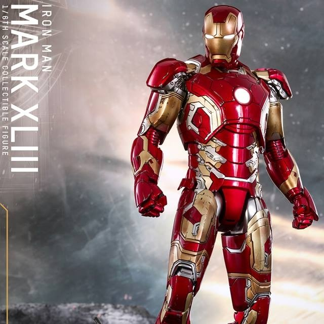 Mark XLIII - Age of Ultron - Diecast 1/6 Scale Figure