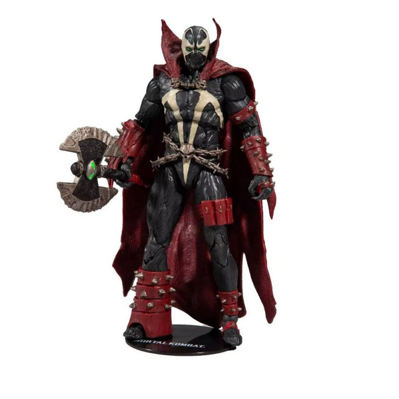 Spawn with Axe Target Exclusive - Mortal Kombat - Actionfigur 18cm