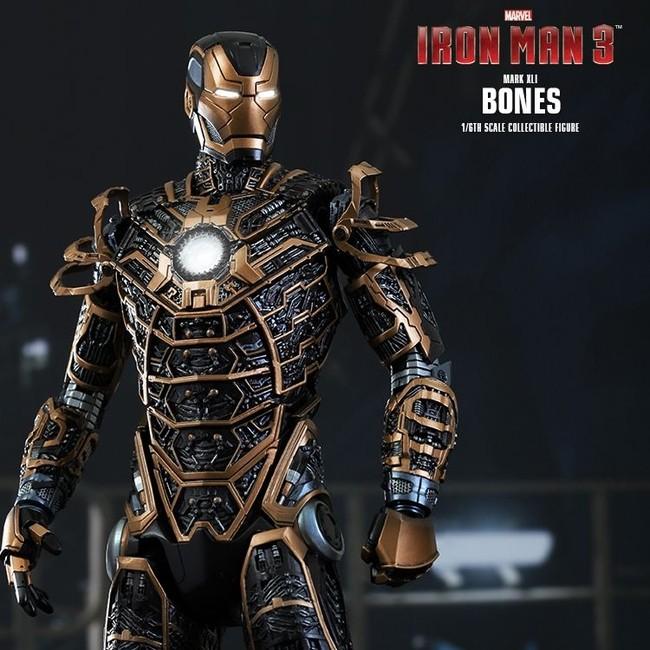Bones Mark XLI - Iron Man 3 - 1/6 Scale Action Figur