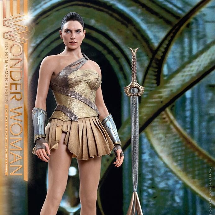Wonder Woman Training Armor - Wonder Woman - 1/6 Scale Figur