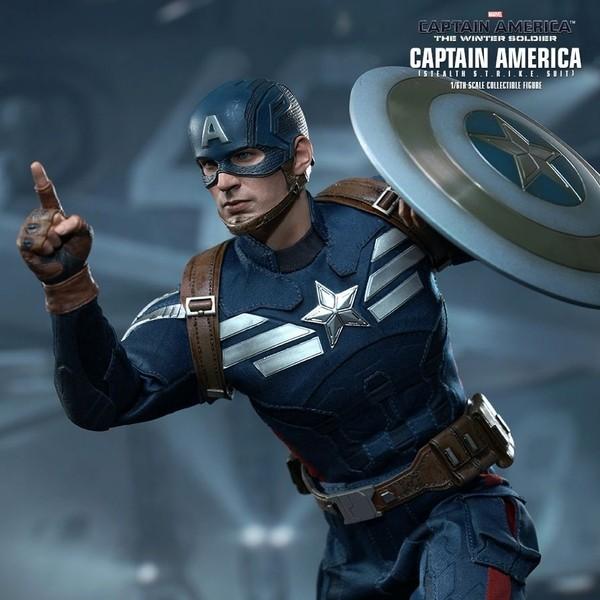 Captain America - Stealth S.T.R.I.K.E. - 1/6 Scale Figur