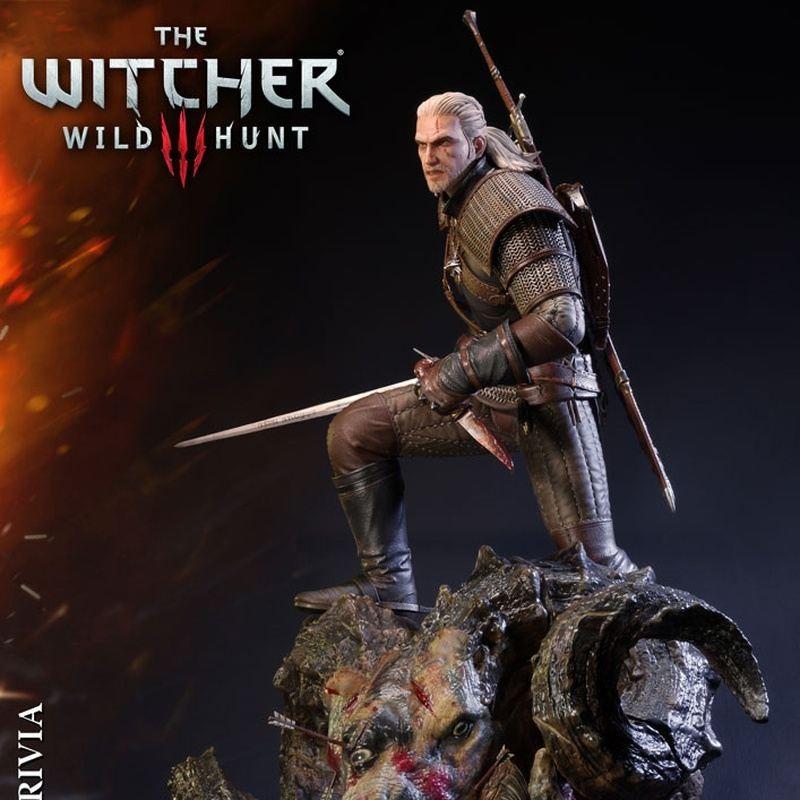 Geralt von Riva - Witcher 3 Wild Hunt - 1/4 Scale Polystone Statue
