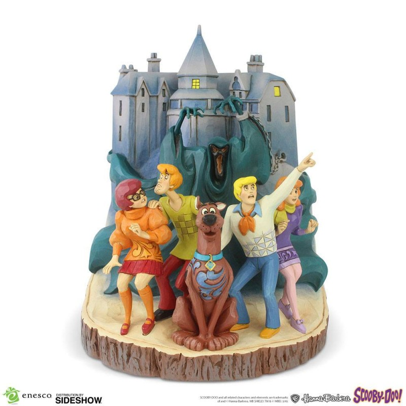 Scooby-Doo Statue Carved by Heart - Resin Statue 23 cm