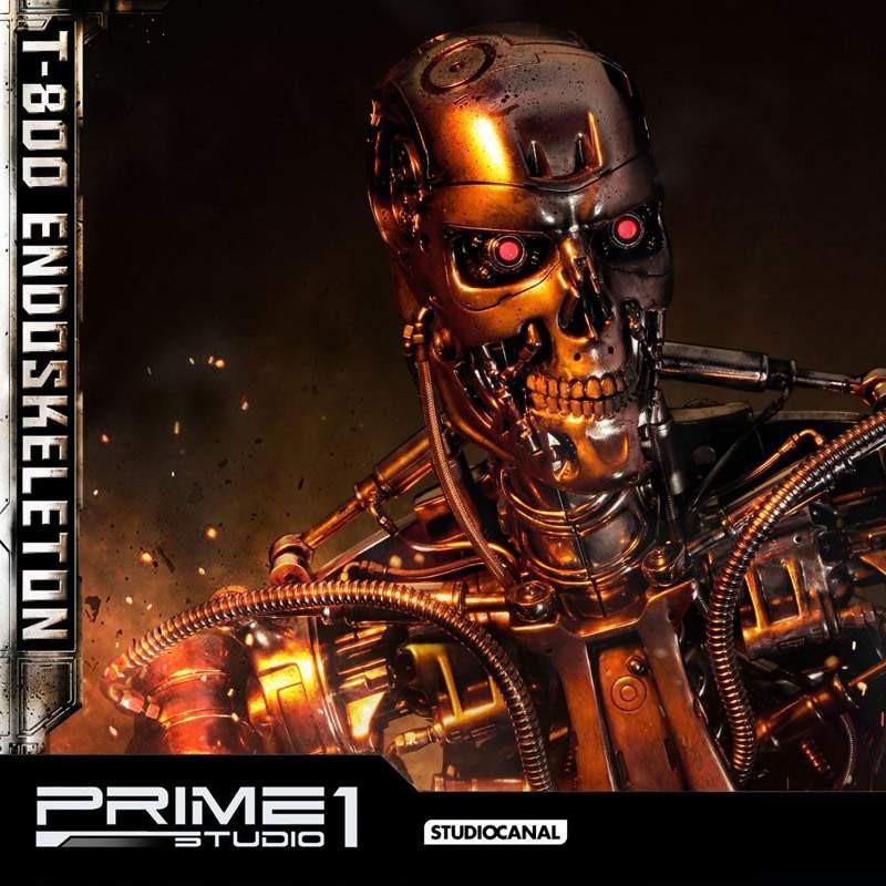 Endoskelett - Terminator - 1/2 Scale Statue