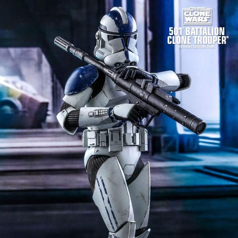 501st Battalion Clone Trooper - Star Wars The Clone Wars - 1/6 Scale Figur