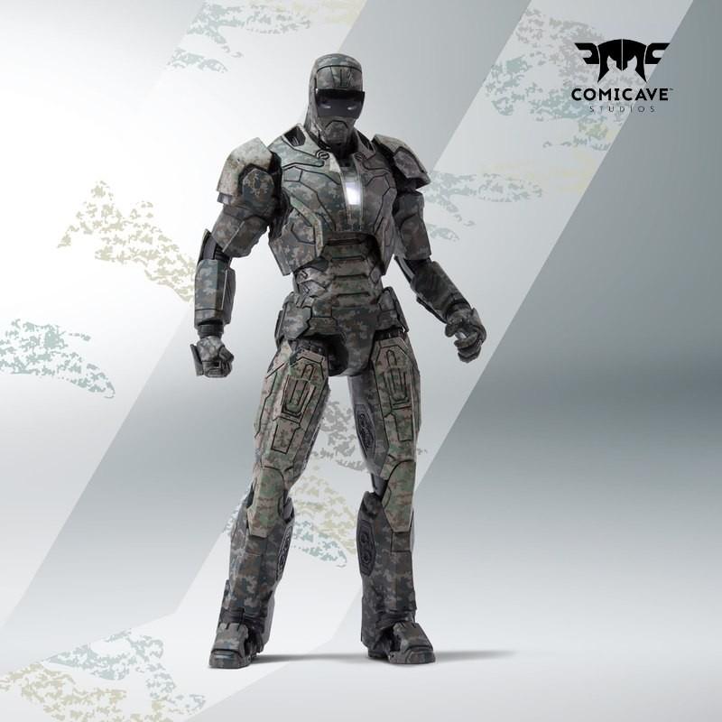 Iron Man Mark XXIII (Shades) - 1/12 Scale Diecast Actionfigur